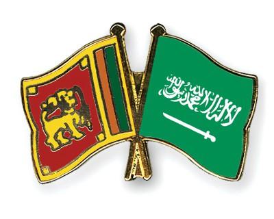 Special Offer Crossed Flag Pins Sri-Lanka-Saudi-Arabia