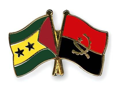 Crossed Flag Pins Sao-Tome-and-Principe-Angola
