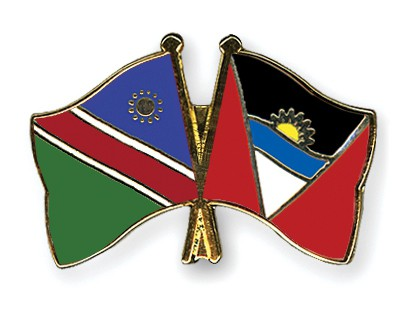 Crossed Flag Pins Namibia-Antigua-and-Barbuda