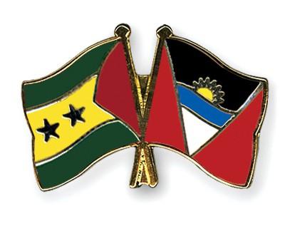 Crossed Flag Pins Sao-Tome-and-Principe-Antigua-and-Barbuda