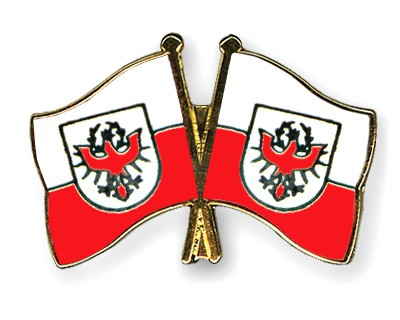 Crossed Flag Pins Tyrol-Tyrol