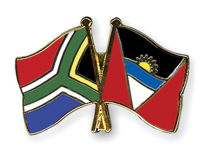 Crossed Flag Pins South-Africa-Antigua-and-Barbuda