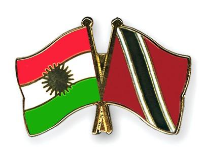 Crossed Flag Pins Kurdistan-Trinidad-and-Tobago