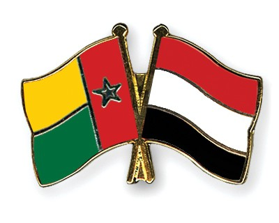 Crossed Flag Pins Guinea-Bissau-Yemen