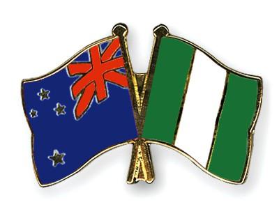 Crossed Flag Pins New-Zealand-Nigeria