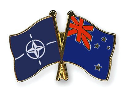 Crossed Flag Pins NATO-New-Zealand