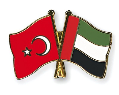 Crossed Flag Pins Turkey-United-Arab-Emirates