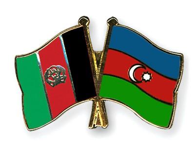Crossed Flag Pins Afghanistan-Azerbaijan