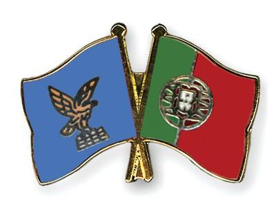 Crossed Flag Pins Friuli-Venezia-Giulia-Portugal