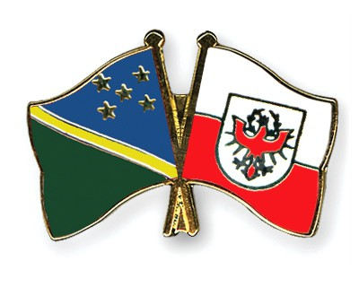 Crossed Flag Pins Solomon-Islands-Tyrol