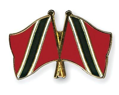 Crossed Flag Pins Trinidad-and-Tobago-Trinidad-and-Tobago