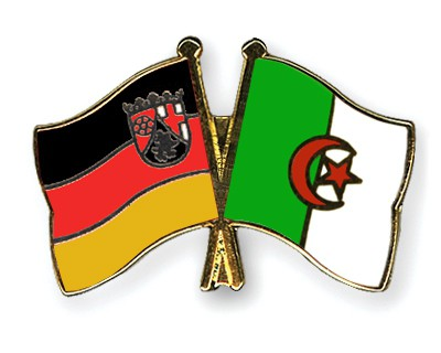 Crossed Flag Pins Rhineland-Palatinate-Algeria