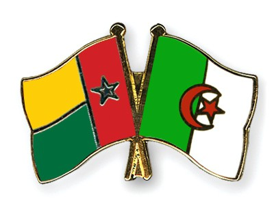 Crossed Flag Pins Guinea-Bissau-Algeria