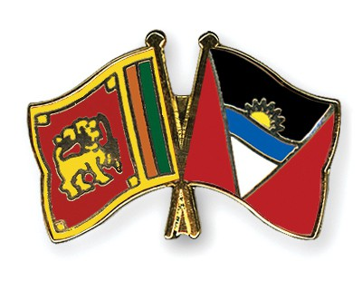 Crossed Flag Pins Sri-Lanka-Antigua-and-Barbuda