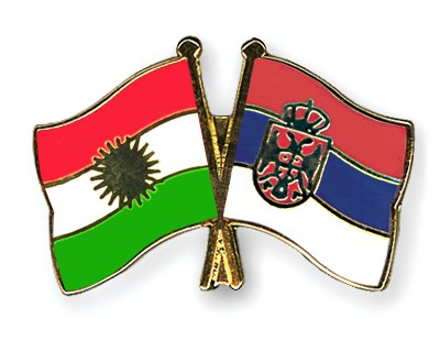 Crossed Flag Pins Kurdistan-Serbia-without-Crest