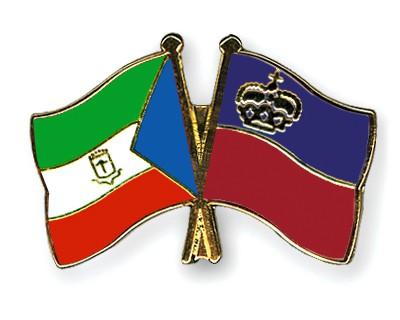 Crossed Flag Pins Equatorial-Guinea-Liechtenstein