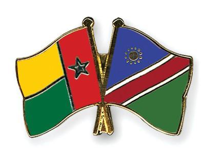 Crossed Flag Pins Guinea-Bissau-Namibia