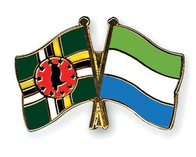 Crossed Flag Pins Dominica-Sierra-Leone