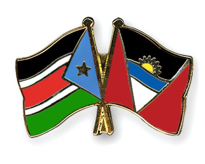 Crossed Flag Pins South-Sudan-Antigua-and-Barbuda