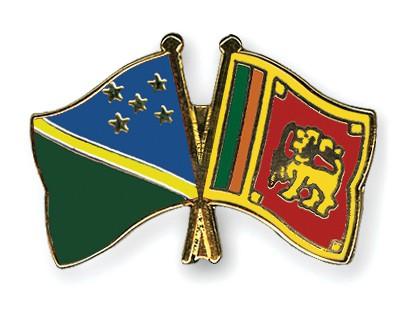 Crossed Flag Pins Solomon-Islands-Sri-Lanka