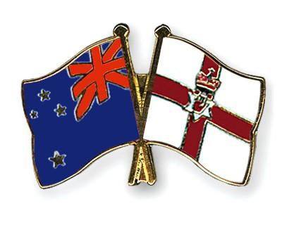 Crossed Flag Pins New-Zealand-Northern-Ireland
