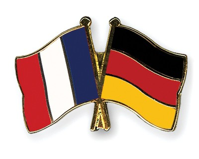 Special Offer Crossed Flag Pins France-Germany
