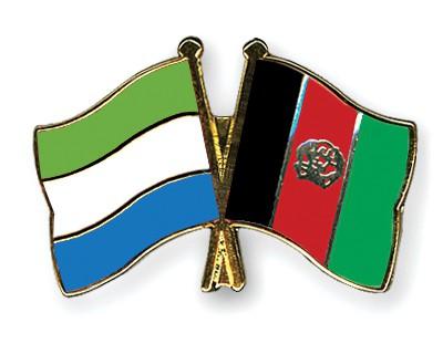 Crossed Flag Pins Sierra-Leone-Afghanistan