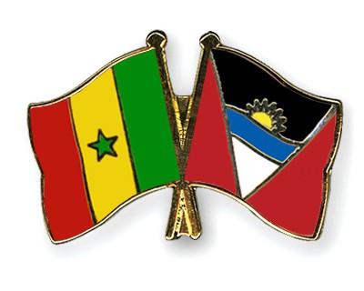 Crossed Flag Pins Senegal-Antigua-and-Barbuda