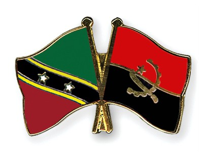 Crossed Flag Pins Saint-Kitts-and-Nevis-Angola