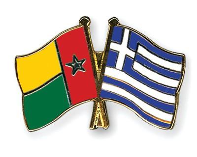 Crossed Flag Pins Guinea-Bissau-Greece