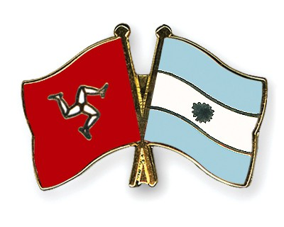 Crossed Flag Pins The-Isle-of-Man-Argentina