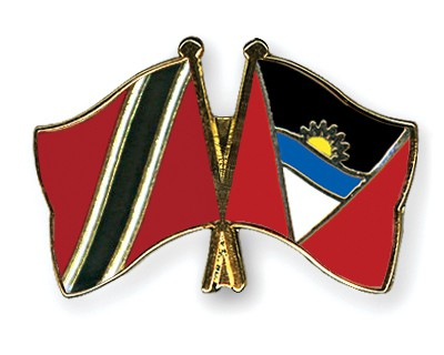 Crossed Flag Pins Trinidad-and-Tobago-Antigua-and-Barbuda