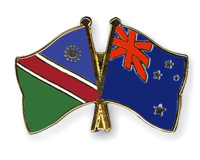 Crossed Flag Pins Namibia-New-Zealand