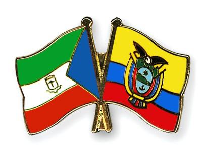 Crossed Flag Pins Equatorial-Guinea-Ecuador