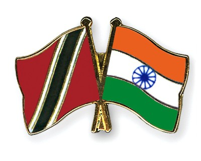 Special Offer Crossed Flag Pins Trinidad-and-Tobago-India