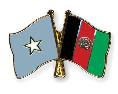 Crossed Flag Pins Somalia-Afghanistan