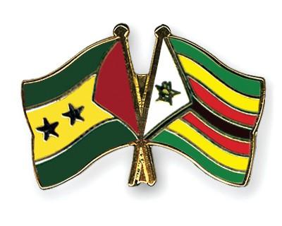 Crossed Flag Pins Sao-Tome-and-Principe-Zimbabwe