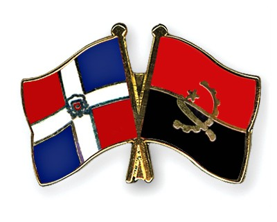 Crossed Flag Pins Dominican-Republic-Angola
