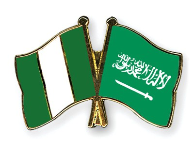 Special Offer Crossed Flag Pins Nigeria-Saudi-Arabia