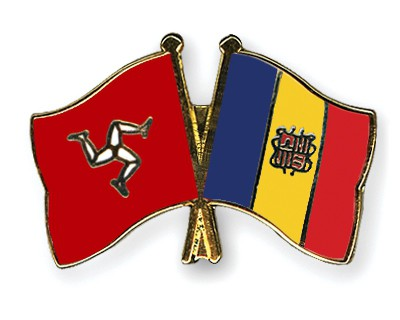 Crossed Flag Pins The-Isle-of-Man-Andorra