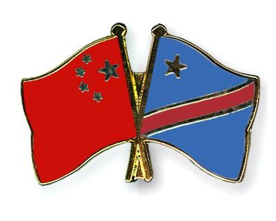Crossed Flag Pins China-Democratic-Republic-of-the-Congo