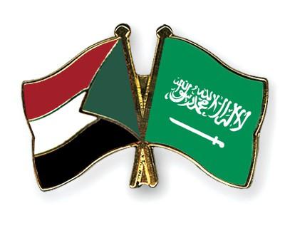 Special Offer Crossed Flag Pins Sudan-Saudi-Arabia