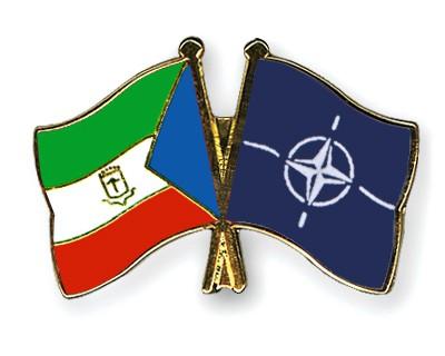 Crossed Flag Pins Equatorial-Guinea-NATO