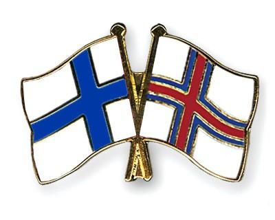 Special Offer Crossed Flag Pins Finland-Faroe Islands