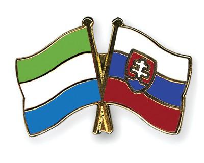 Crossed Flag Pins Sierra-Leone-Slovakia