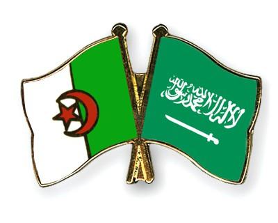 Special Offer Crossed Flag Pins Algeria-Saudi-Arabia