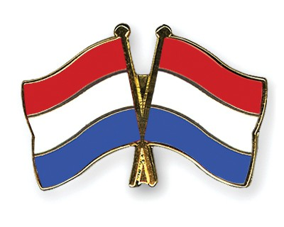 Crossed Flag Pins Netherlands-Netherlands