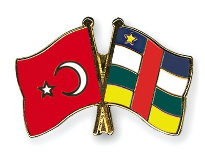 Crossed Flag Pins Turkey-Central-African-Republic