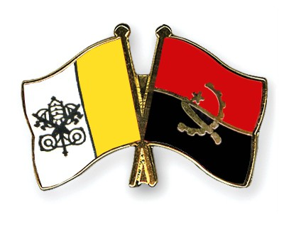 Crossed Flag Pins Vatican-City-Angola