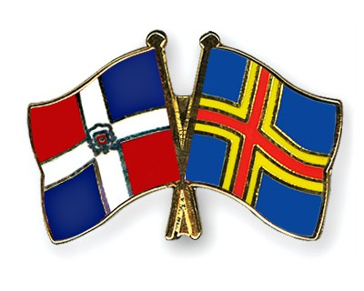 Crossed Flag Pins Dominican-Republic-Aland